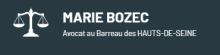 Avocat inscrit au Barreau des Hauts-de-Seine, Maître Marie BOZEC